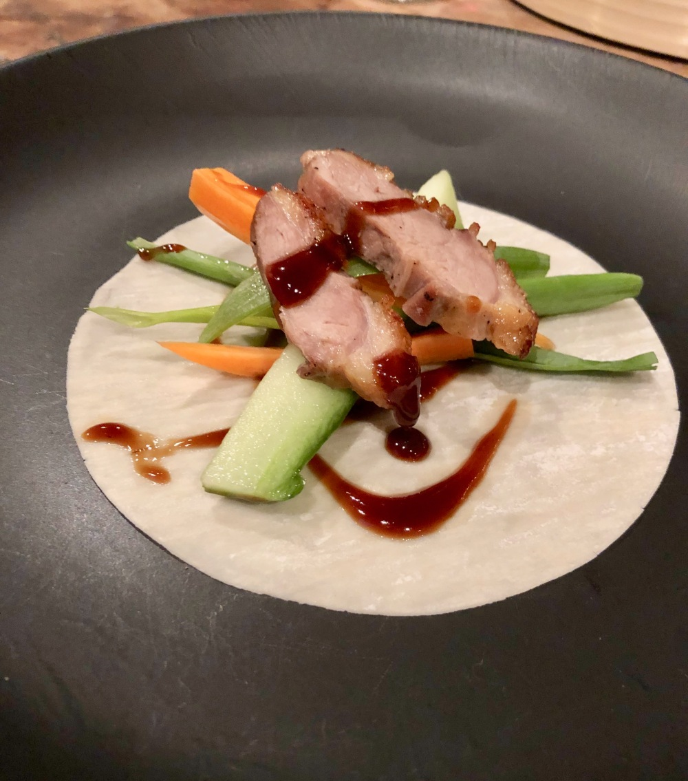 crispy duck andebryst